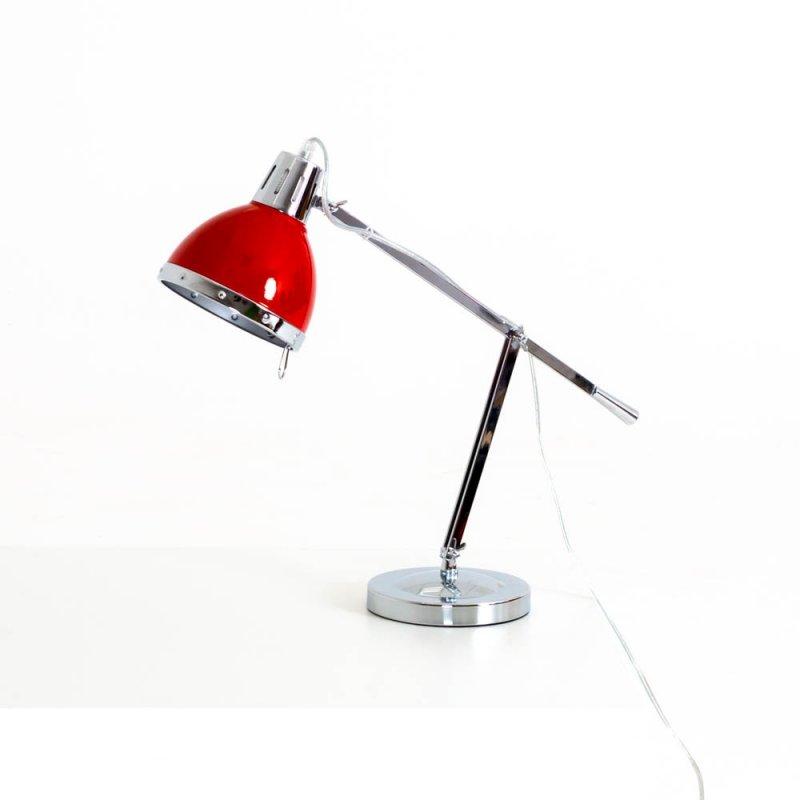 Lampe de bureau link rouge design bd mobilier - Lampe de bureau professionnel ...