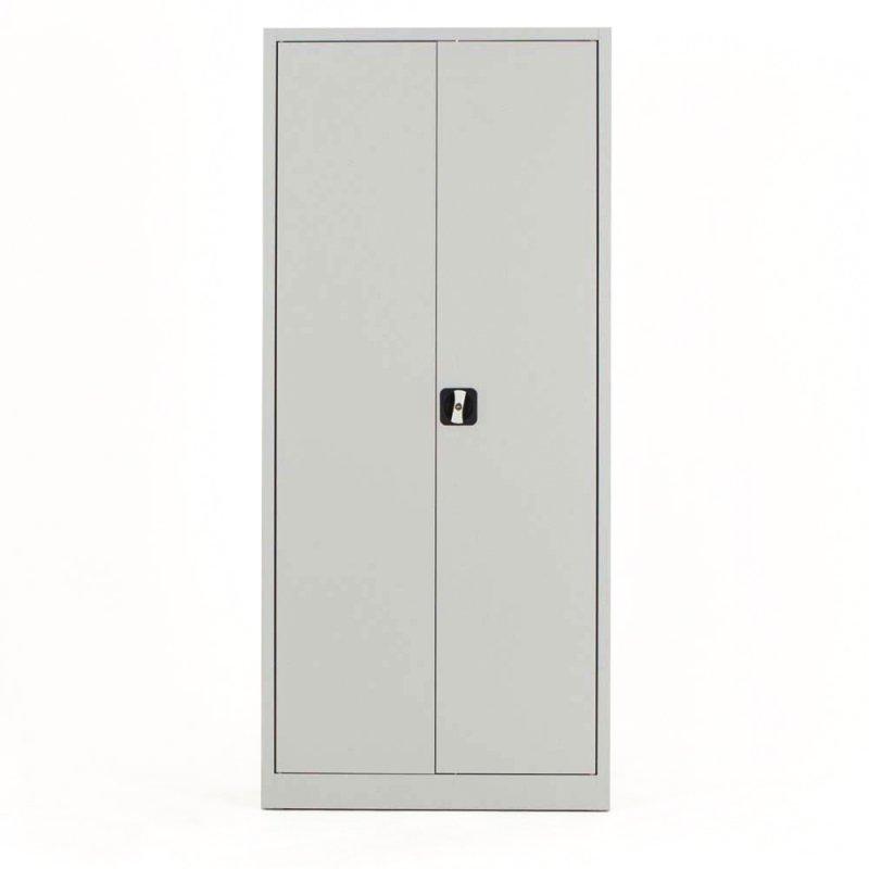 armoire haute m tallique robust portes battantes de bureau. Black Bedroom Furniture Sets. Home Design Ideas