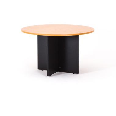 Table ronde piétement panneau