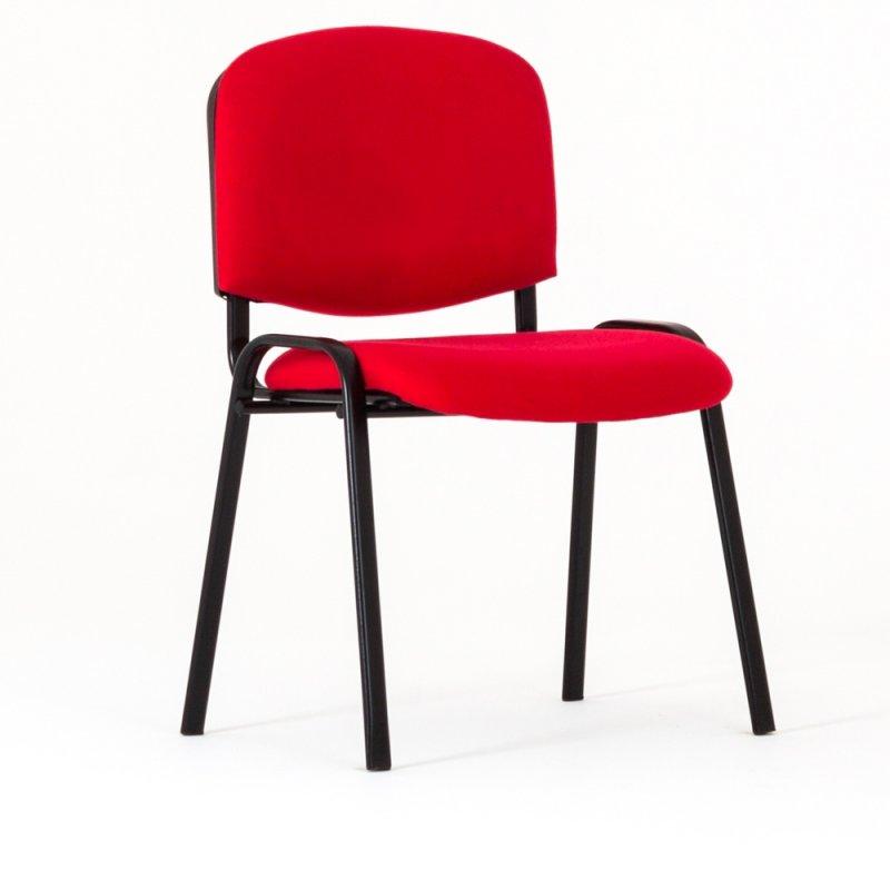 chaise visiteur clasik en tissu 5 coloris dispo bd mobilier. Black Bedroom Furniture Sets. Home Design Ideas