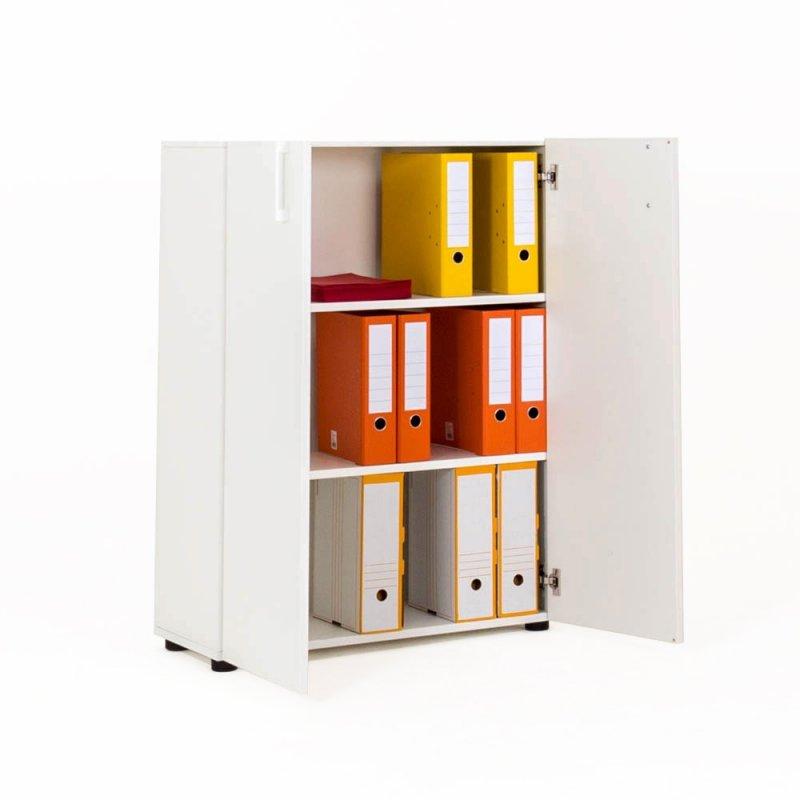 armoire avec porte battante en bois 109cm bd mobilier. Black Bedroom Furniture Sets. Home Design Ideas