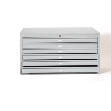 Meuble à plans A1, 6 tiroirs, H.61 x L.113 cm