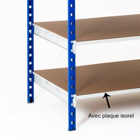 Rayonnage archives 150 kg de 104 à 129 cm