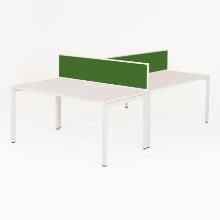 Bureau bench 3 personnes