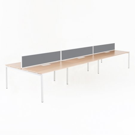 Bureau bench YLO 6 personnes