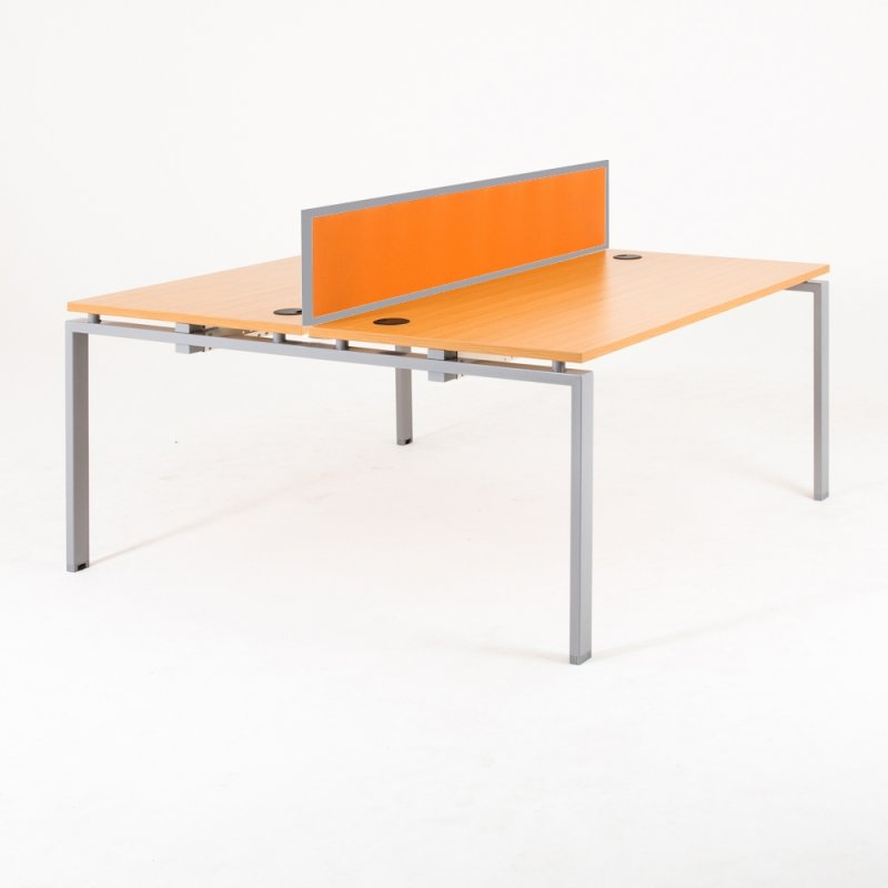 Bureau bench OPTIMUM 2 personnes