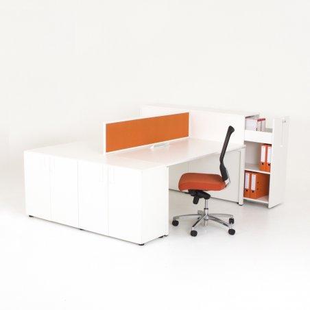 Bureau bench 2 personnes