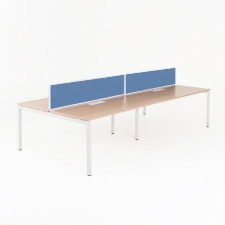 Bureau bench YLO 4 personnes