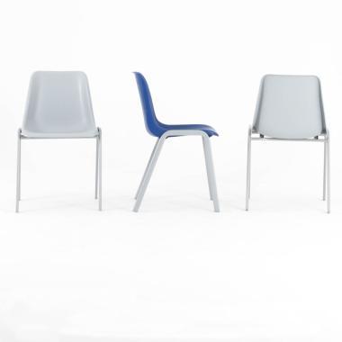 Chaise coque de collectivité MULO