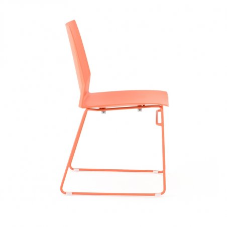 Chaise luge de bureau KALI, zoom assise