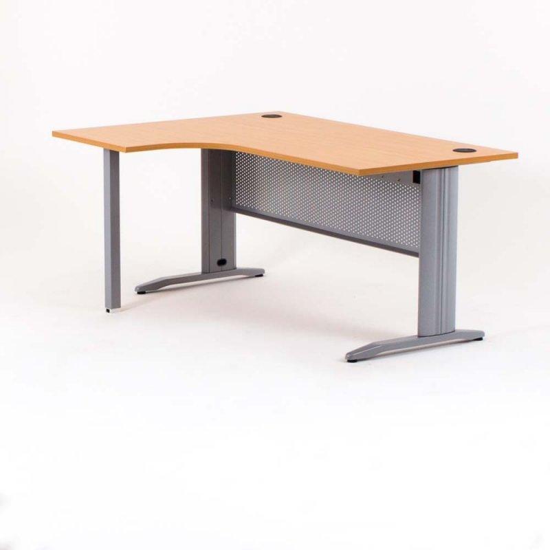 bureau compact avec retour quadra bdmobilier. Black Bedroom Furniture Sets. Home Design Ideas