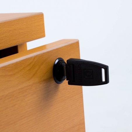 Caisson à roulettes LUDY en bois 3 tiroirs
