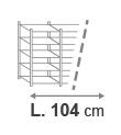 L. 104 cm