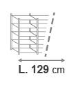 L. 129 cm