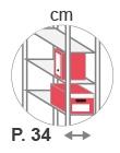 P. 34 cm