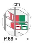 P. 68 cm